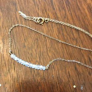 Jewelry - Fire opal beaded chocker / necklace
